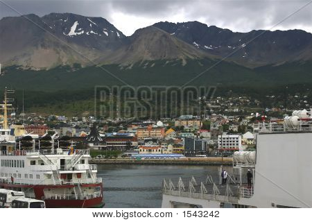 Harborside In Ushuaia