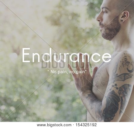 Endurance Strength Energize Stability Performance Concept