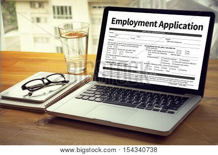 Employment Application Agreement Form ,application For Employment