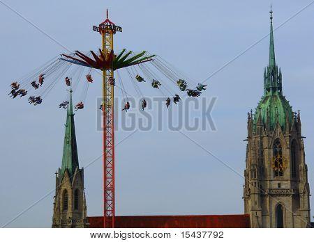 carousel Munich
