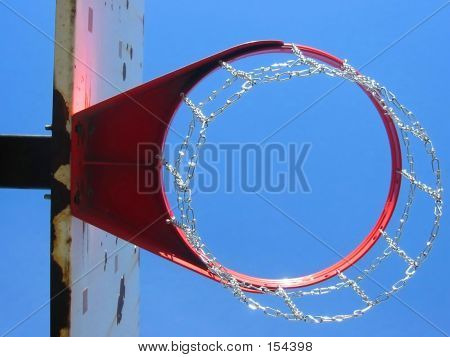 Chain Basketball Hoop