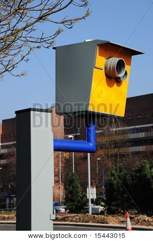 Road safety speeding camera