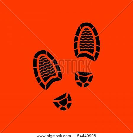 Man Footprint Icon