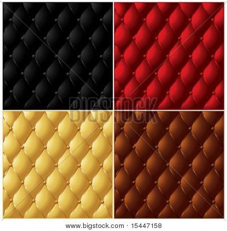 Colección de textura de cuero