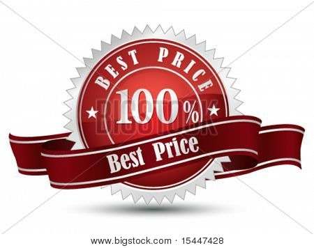 100% Best Price  Sign