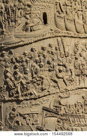 Trajan Column In Rome