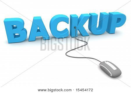 Browse The Blue Backup - Grey Mouse