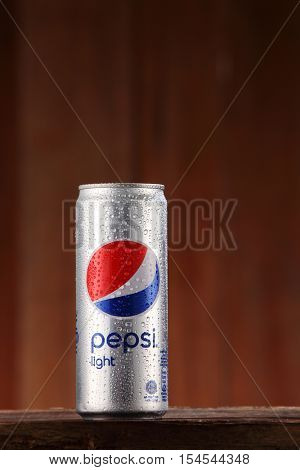 Kuala Lumpur,Malaysia,31th ,Oct 2016,pepsi cola can drinks,Pepsi is a carbonated soft drink produced by PepsiCo.