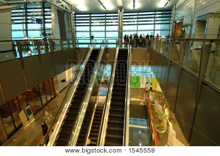 The Escalators In Entertainment Center
