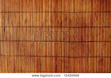 Background - teature of old reed mat