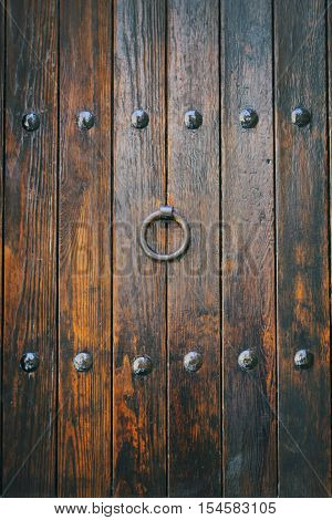 Gate Of Wooden Medieval