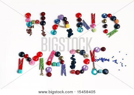 handmade word