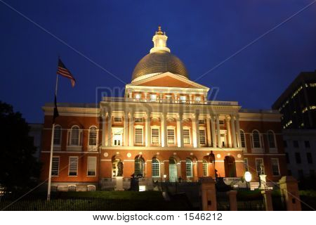 Massachusetts State House..Massachusetts State House..