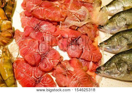 Fresh Wild Seafood Show On Shop