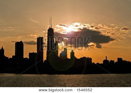 Sunset Chicago