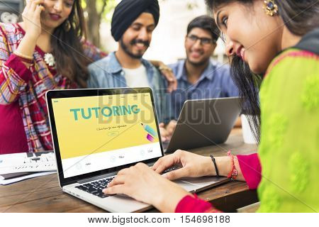 Learning Academics Tutoring Literacy Study Concept