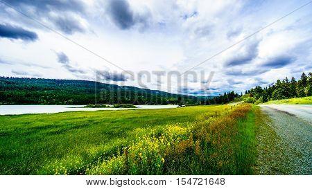 Mamit Lake along Highway 97C between Logan Lake to the town of Merritt in British Columbia