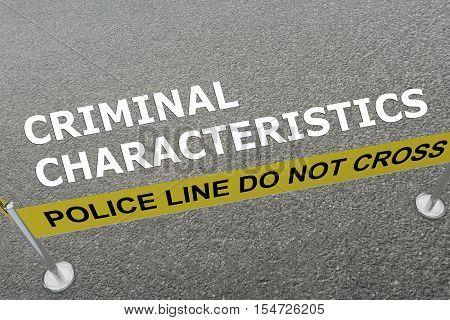 Criminal Characteristics Concept