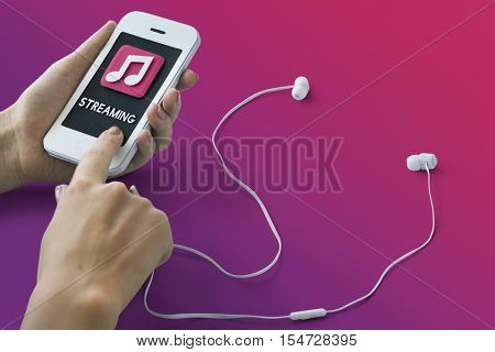 Music MP3 Player Podcast Song Sound Concept
