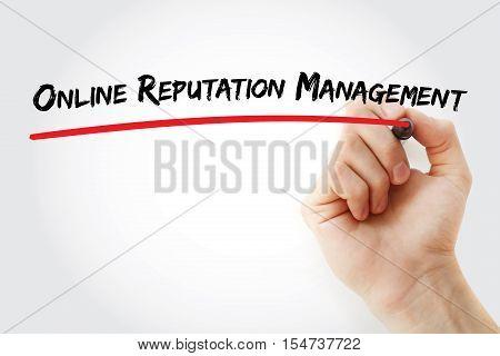 Hand Writing Online Reputation Management