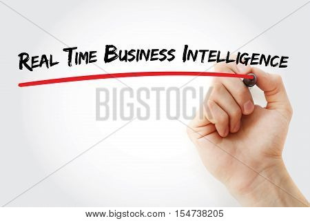 Hand Writing Real Time Business Intelligence