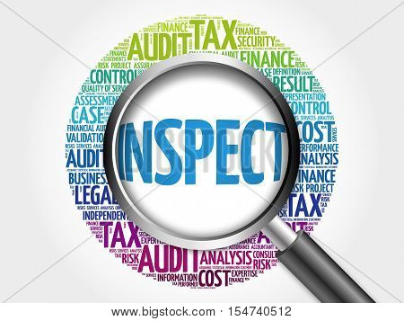 Inspect Word Cloud With Magnifying Glass