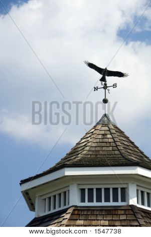 Weathervane On The Bandstand
