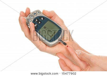Diabetes Measure Glucose Surag Level Blood Test