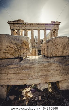 Reconstruction Of Parthenon
