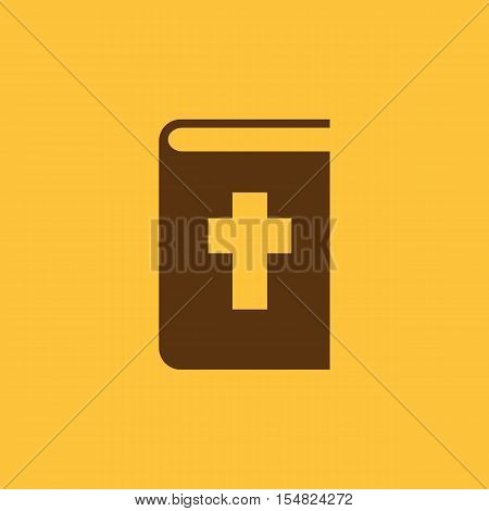 Bible icon. vector design. Religion, Bible symbol. web. graphic. JPG. AI. app. logo. object. flat. image. sign. eps. art. picture - stock vector