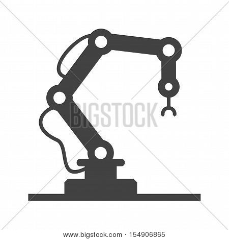 Industry, robot, machine icon vector image. Can also be used for Industrial Process. Suitable for mobile apps, web apps and print media.