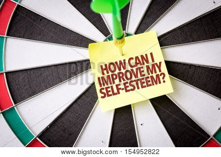 How Can I Improve My Self-Esteem?