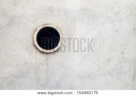 The walls are decorated dirty white plaster. White Plastered Concrete Wall Background Texture D