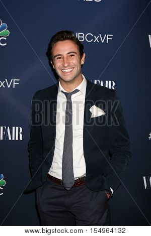 LOS ANGELES - NOV 2:  Cameron Jones at the NBC And Vanity Fair Toast the 2016-2017 TV Season at NeueHouse Hollywood on November 2, 2016 in Los Angeles, CA