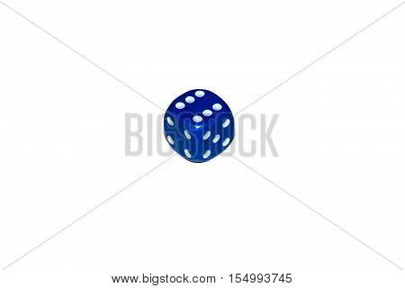 Isolate, dice, dice games, blue dice, casino dice