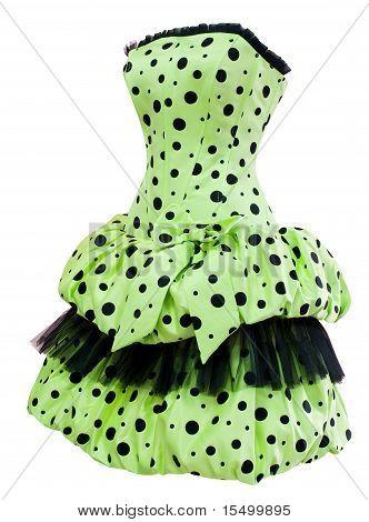 Ladies' Polka Dot Cocktail Dress