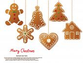 foto of christmas cookie  - Christmas cookies - JPG
