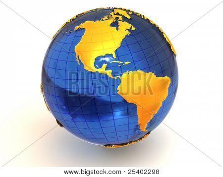 Earth. 3d