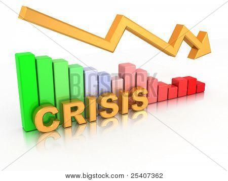 Diagram. Crisis. 3d