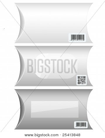 Vector Cardboard Packaging For Your Design