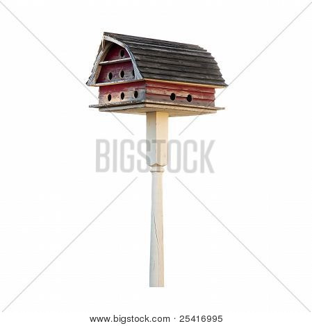 Bird House With Gambrel Roof