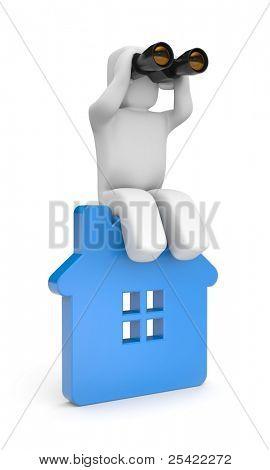 Die Suche nach einem neuen Haus