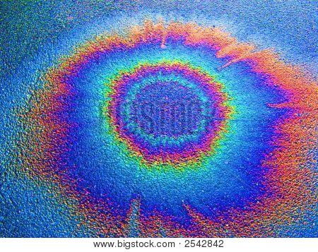 Oil On Wet Asphalt