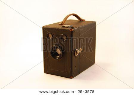 An Old Box Camera