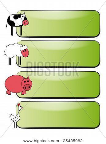 Bandera de animal