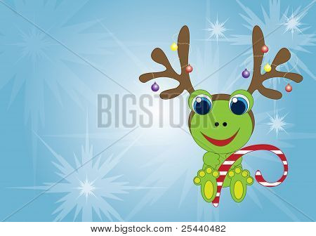 Holiday frog