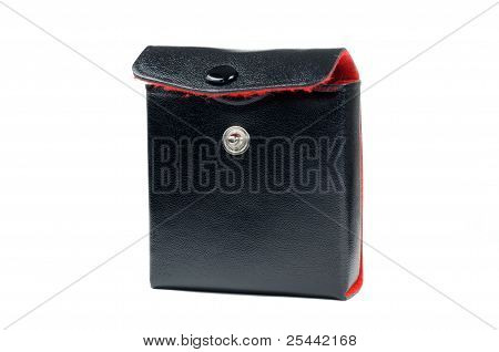Black Leather Case