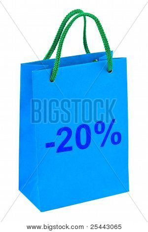 Shopping Bag 20 Percent