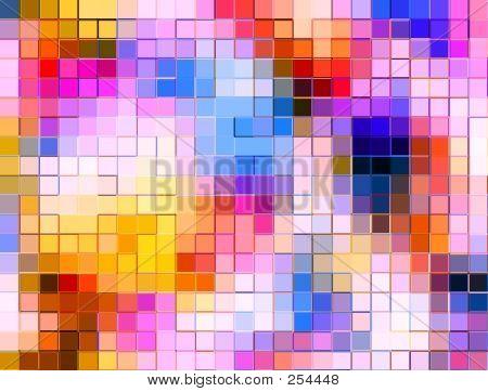 Multi Colour Mosaic