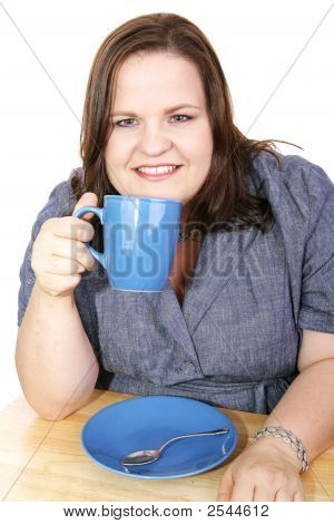 Businesswoman - Coffee Break